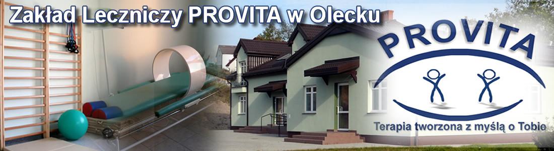 Rehabilitacja Olecko – Zakład Leczniczy PROVITA